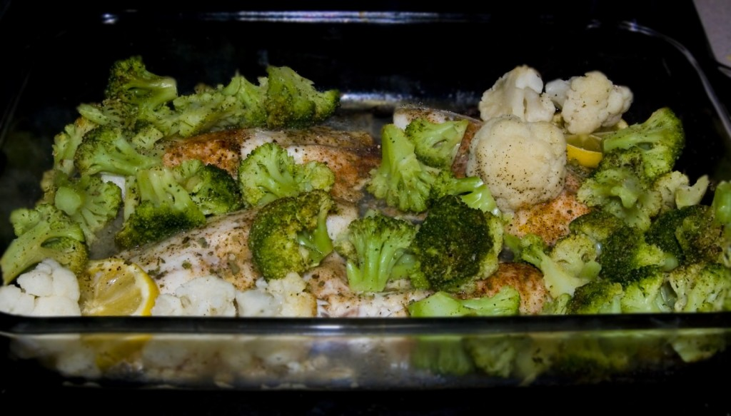 Over Baked Tilapia