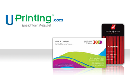 Free business cards from uprinting reheart Choice Image